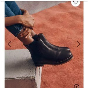 ⚡️SALE⚡️Madewell Ivy Chelsea Boot in Leather Black